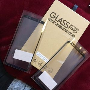 Brand new tempered glass for S8 Black colored